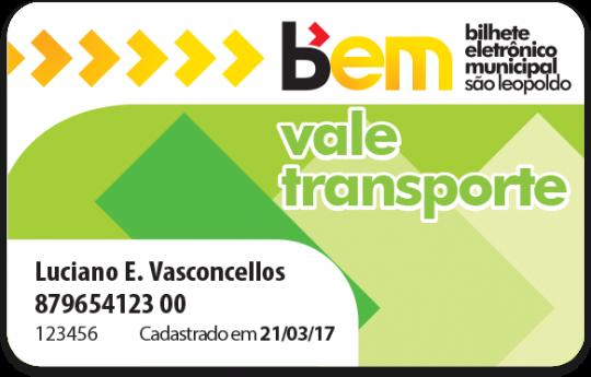 Cartão Vale Transporte